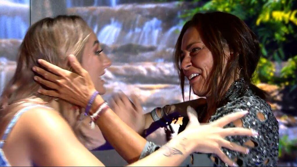 El reencuentro entre Olga Moreno y Rocío Flores
